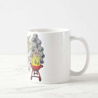 Barbecue pit master grill bbq smoker coffee mug