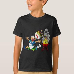 TOGIC Custom T Shirt Hommes BBQ Pit Boys Pitmasters Short Sleeve Tops T-Shirt