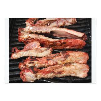 Barbecue Pork Ribs Invitation