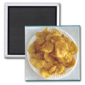 Barbecue Potato Chips Magnet