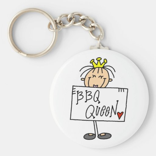 Barbecue Queen Key Chains