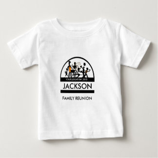 Barbecue - Reunion (Group Silhoutte) Baby T-Shirt