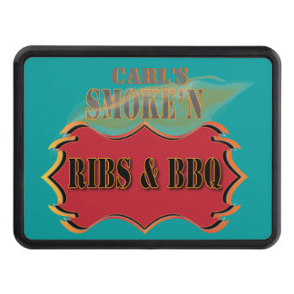 Barbecue - Smoke'n Ribs and BBQ Tow Hitch Cover