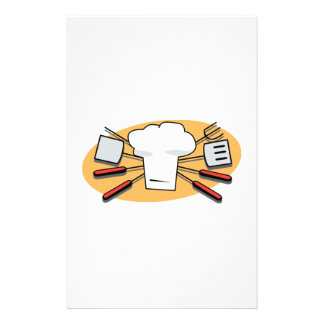 Barbecue Supplies Stationery Design