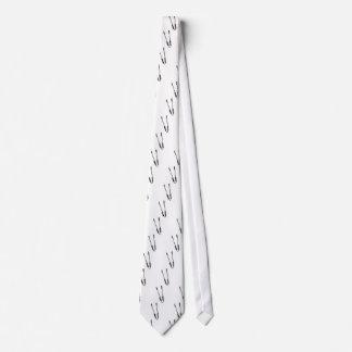 Barbecue tongs neck tie
