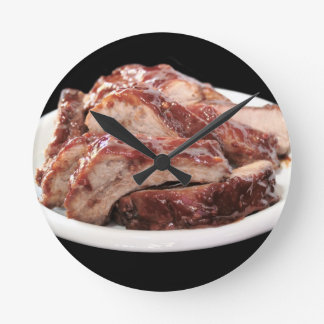 barbecued baby back ribs clock