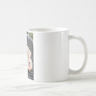 Barbecued chicken on the grill coffee mug