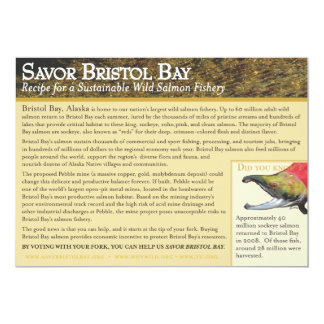 Barbecued Plank Sockeye Salmon Personalized Invite