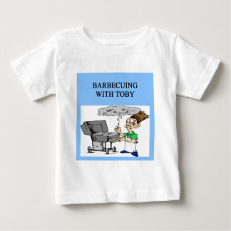 barbecueing with toby shirt