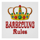 BARBECUING RULES PRINT