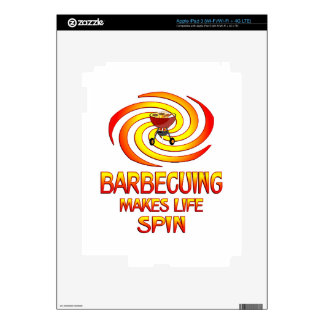 Barbecuing Spins Skins For iPad 3