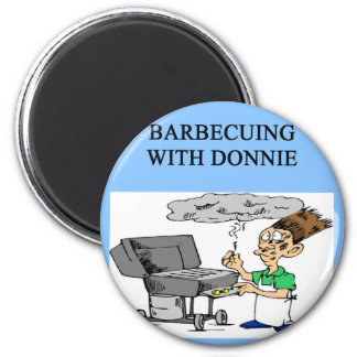 barbecuing with donnie magnets