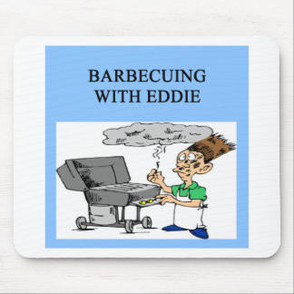 barbecuing with ed mouse pad