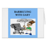 barbecuing with gary card