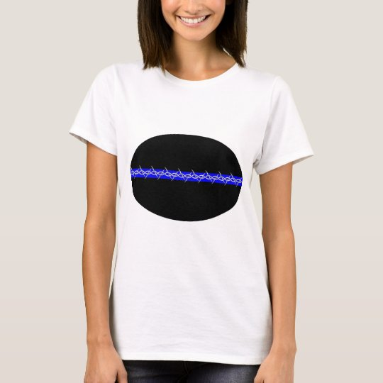 Barbed Blue Line Corrections T-Shirt