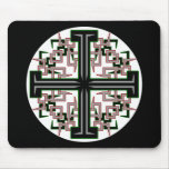 Barbed Cross Mouse Pad