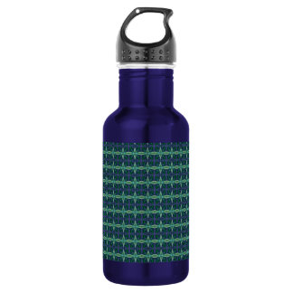 Barbed Green Diamonds Water Bottle