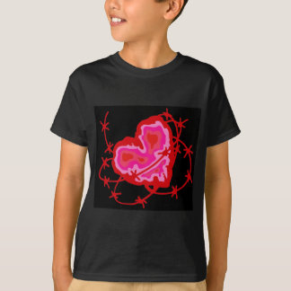 Barbed Heart drk T-Shirt