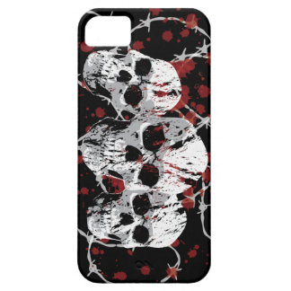 Barbed Skulls Custom iphone 5 Case