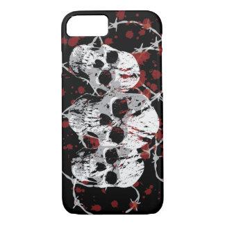 Barbed Skulls Custom iPhone 7 case