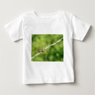 Barbed Wire, Barbed, Wire, Fencing Baby T-Shirt