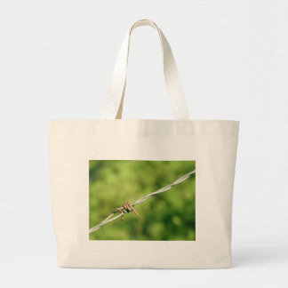 Barbed Wire, Barbed, Wire, Fencing Jumbo Tote Bag