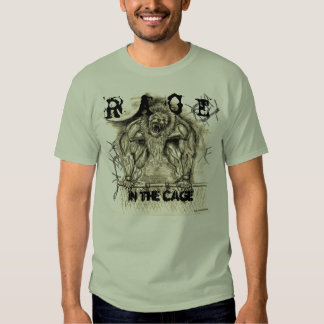 barbed wire, barbed wire, image, R A G E , IN T... T Shirt