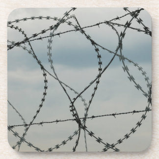 Barbed wire coaster