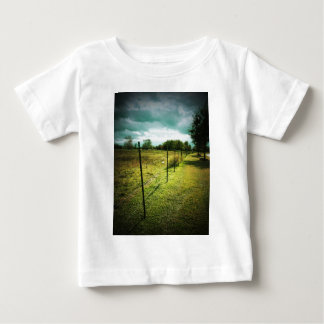 Barbed Wire Fence Baby T-Shirt