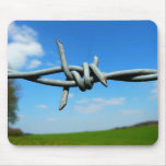 Barbed-Wire Fence Mousepad