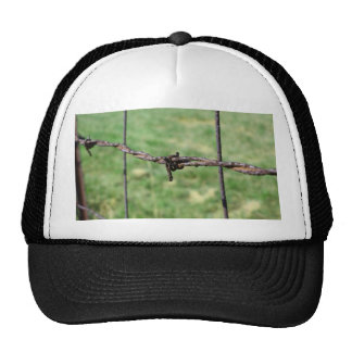 Barbed Wire Fencing Mesh Hats