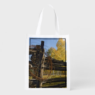 Barbed Wire Grocery Bag