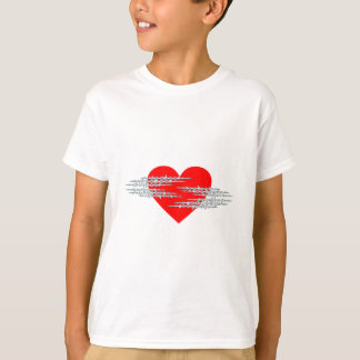 Barbed wire heart barbed wire heart T-Shirt