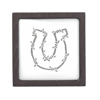 BARBED WIRE HORSESHOE PREMIUM GIFT BOXES