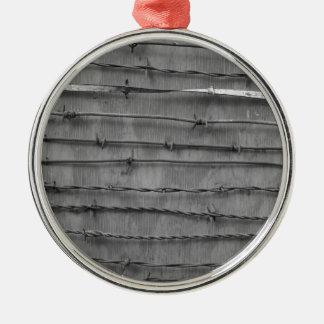 barbed wire ornament