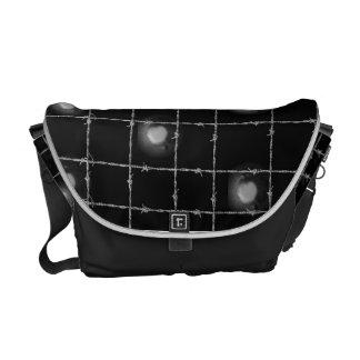 Barbed Wire & Rivets Messenger Bag