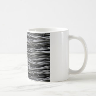 Barbed Wire texture Coffee Mug