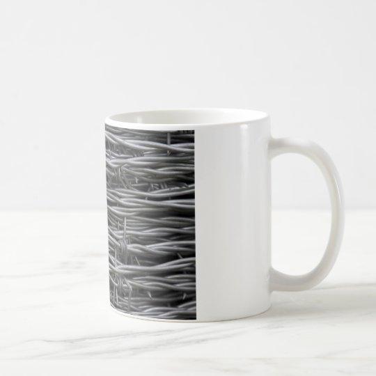 Barbed Wire texture Coffee Mug