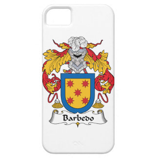 Barbedo Family Crest iPhone 5 Case