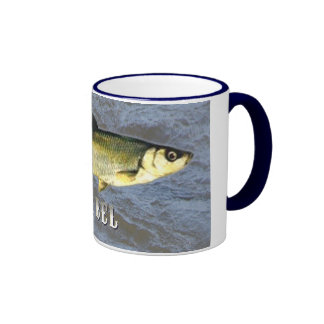Barbel Freshwater Fish, With Water Background Ringer Mug