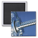 Barbell 2 Inch Square Magnet