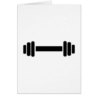 Barbell - Bodybuilding Card
