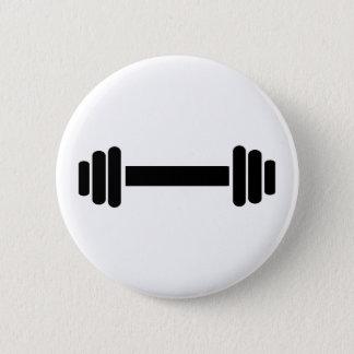 Barbell - Bodybuilding Pinback Button