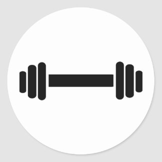 Barbell - Bodybuilding Sticker