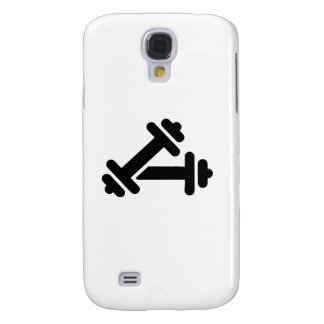 Barbell dumbbell training samsung galaxy s4 case