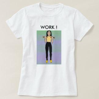 Barbell girl T-Shirt