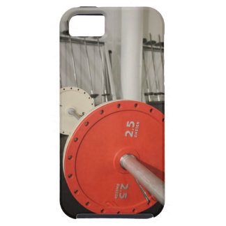 Barbell in gym iPhone SE/5/5s case