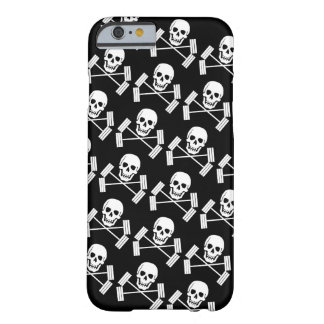 Barbell Jolly Roger Barely There iPhone 6 Case