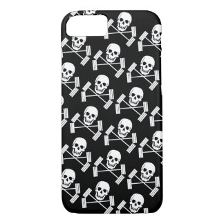 Barbell Jolly Roger iPhone 8/7 Case