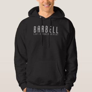 Barbell - Lift, Conquer, Repeat Hoodie